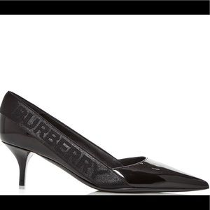 2020 Burberry Marie Pointed-Toe Pumps